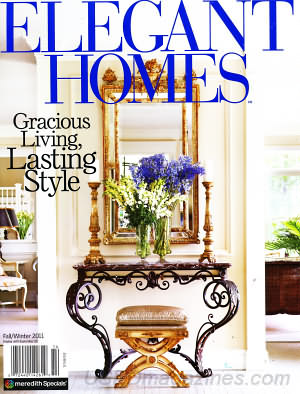 "Elegant Homes, Fall/Winter 2011 ""Storybook Charm"" (pgs. 16-23)"